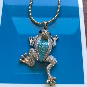 Frog prince necklace